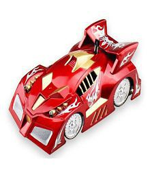 Red-Golden Remote control wall climbing spiderman car