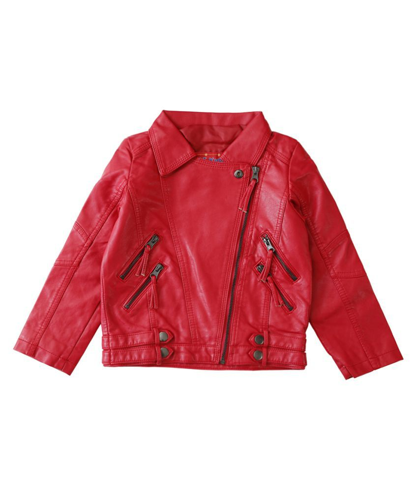 Lilliput Red  Kids  Jacket