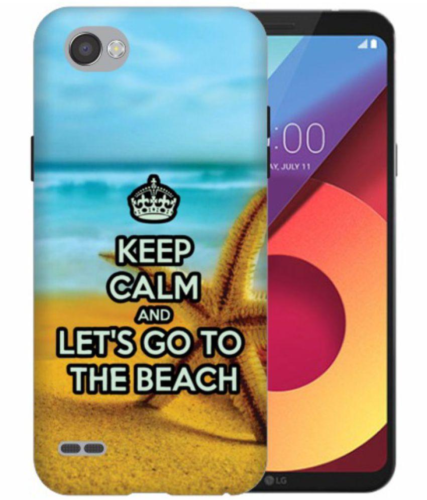LG Q6 3D Back Covers By Printland