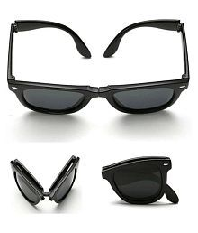 VICEROY ENTERPRISE Black Wayfarer Sunglasses ( 01 )