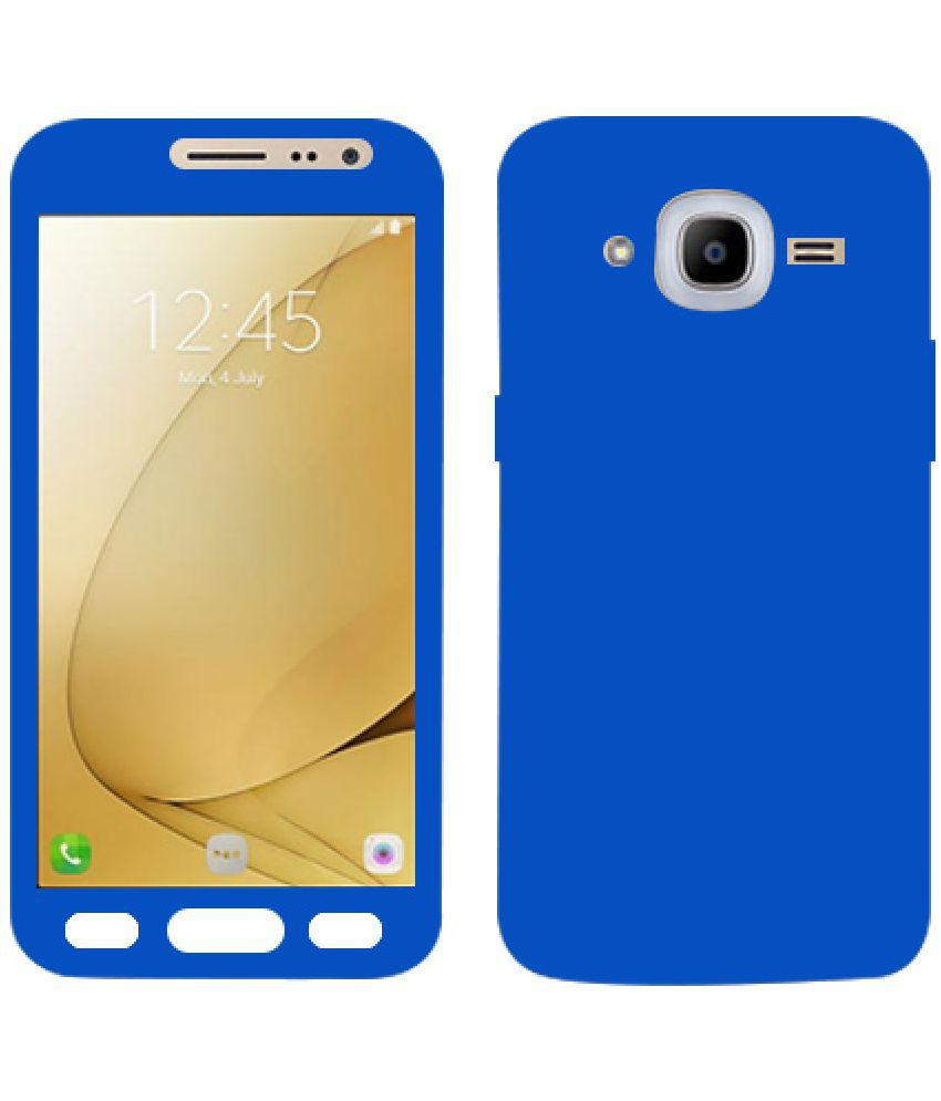separation shoes aba92 b1cc4 Samsung Galaxy J2 Pro Plain Cases Kosher Traders - Blue