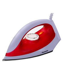 Panasonic NI-323M Dry Iron (White & Maroon color)