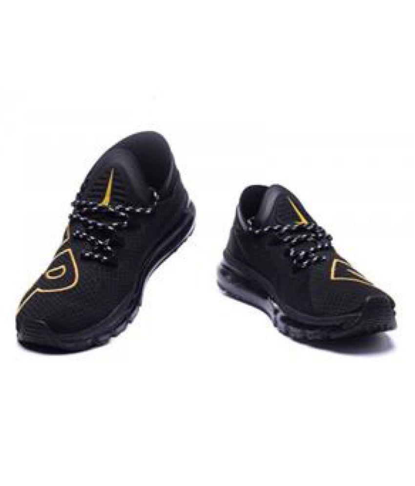 f87f8c9ca6e4 Nike Air Max Flair Black Running Shoes - Buy Nike Air Max Flair ...