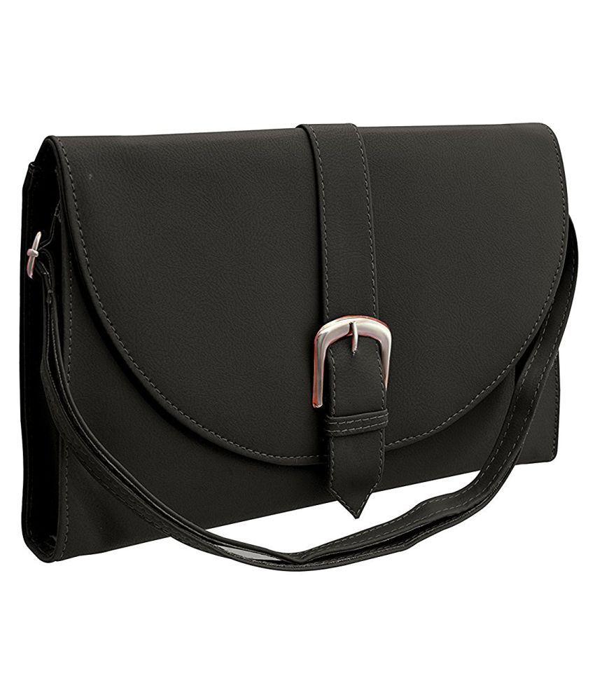 BUY FOR CHANGE Cream P.U. Sling Bag