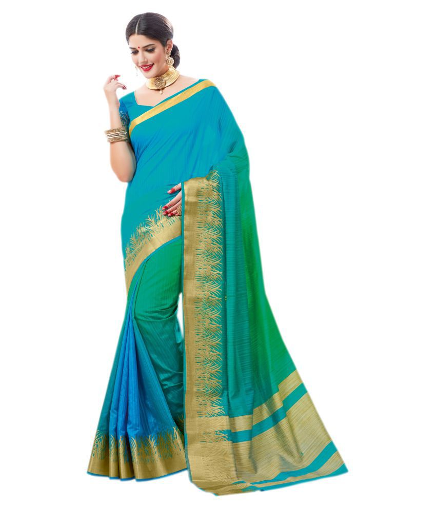 Ashika Multicoloured Silk Blends Saree
