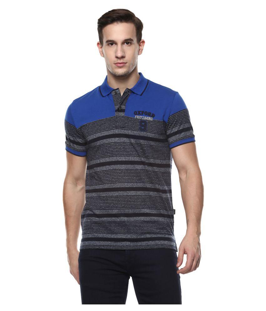 Fritzberg Blue Round T-Shirt Pack of 1