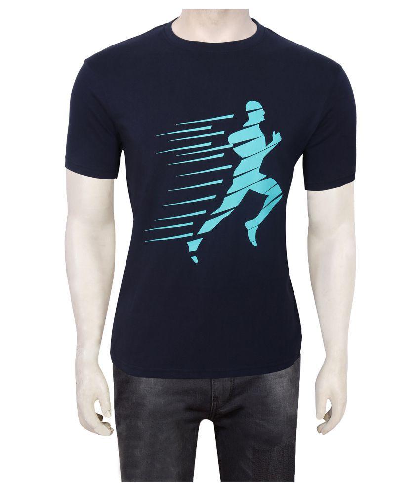Gentle Men's Club Navy Round T-Shirt Pack of 1