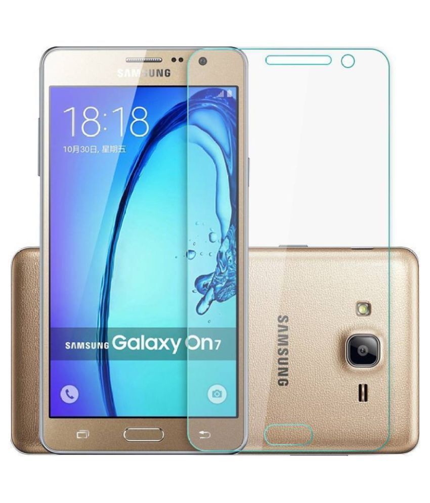 Samsung Galaxy On7 Tempered Glass Screen Guard By Cell Tech