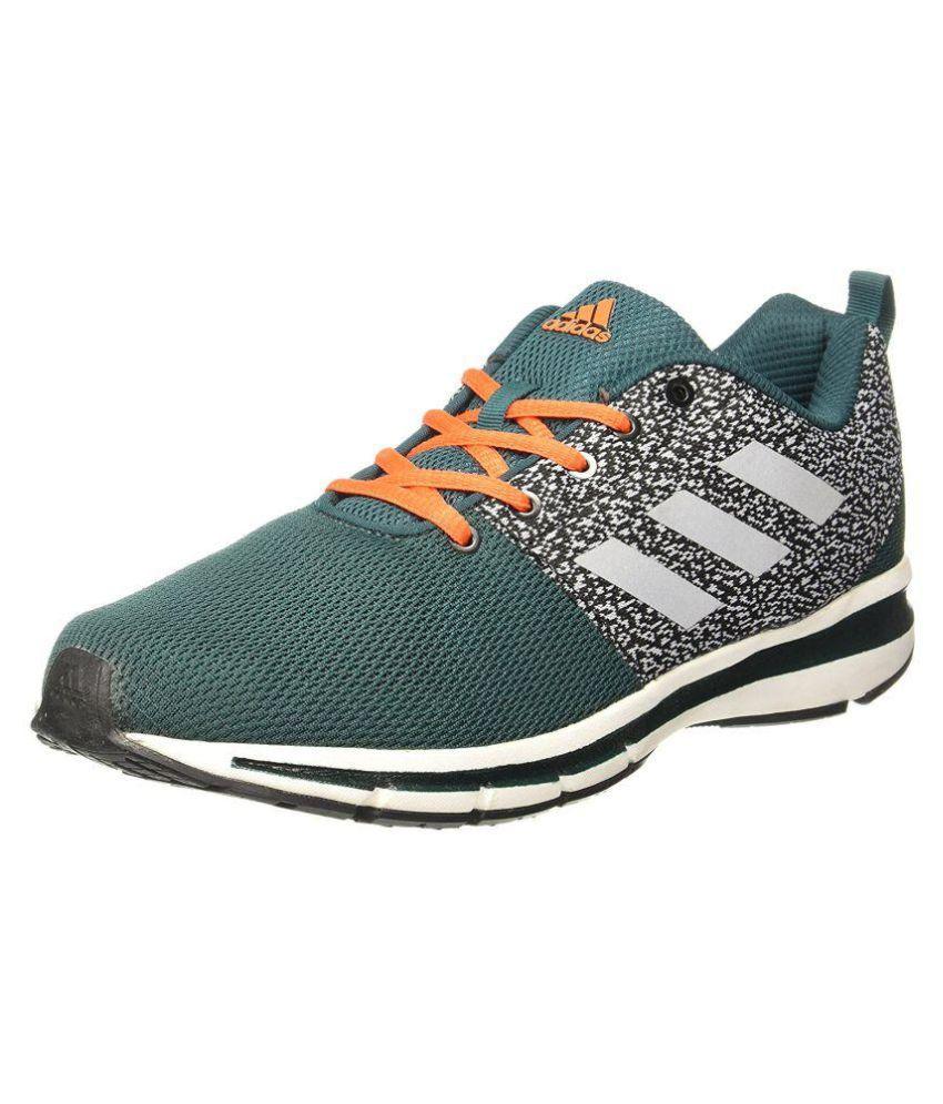 Yaris 10 M Green Running Shoes
