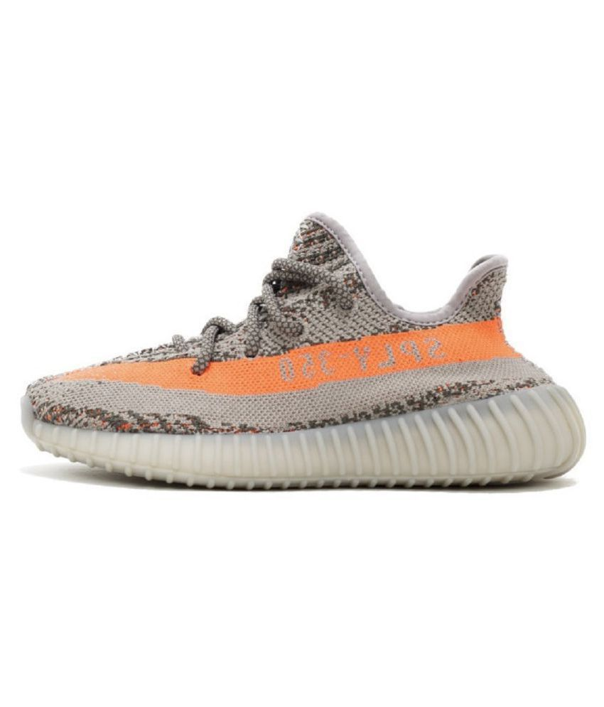 Adidas Yeezy Boost SPLY 350 V2 Orange Running Shoes ...
