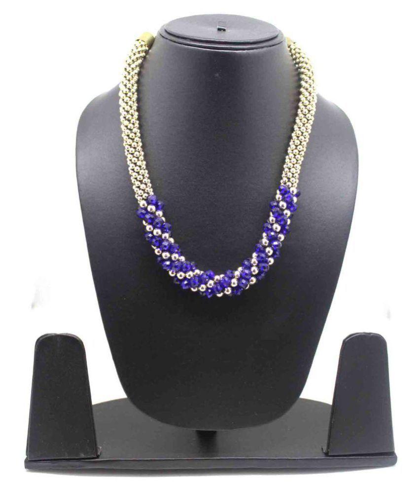 Fedexo Gold Alloy, Stone Necklace