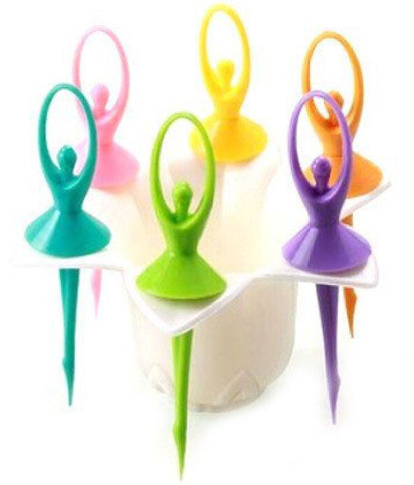 Magikware 1 Pcs Plastic Fruit Fork: Buy Online at Best ...