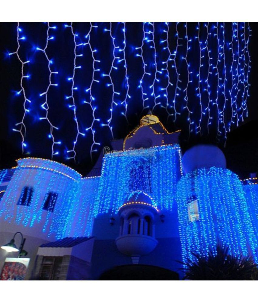 floranso Christmas Wedding Decoration LED String Lights Blue