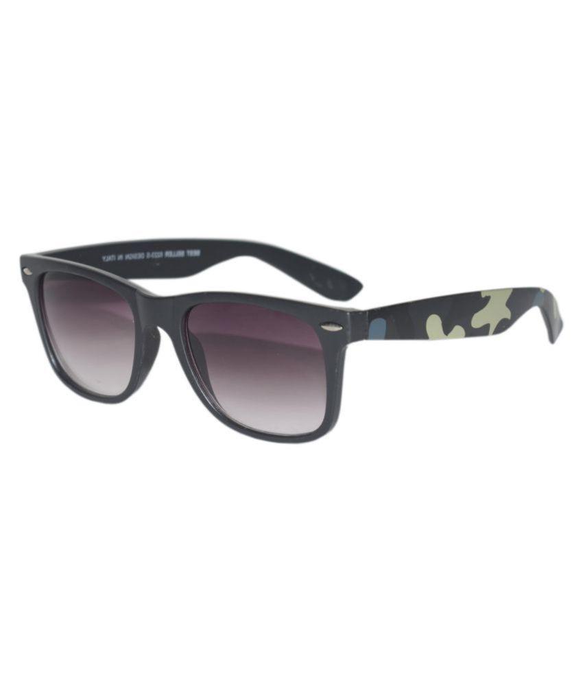 Peter Jones - Black Square Sunglasses ( B8223GD )