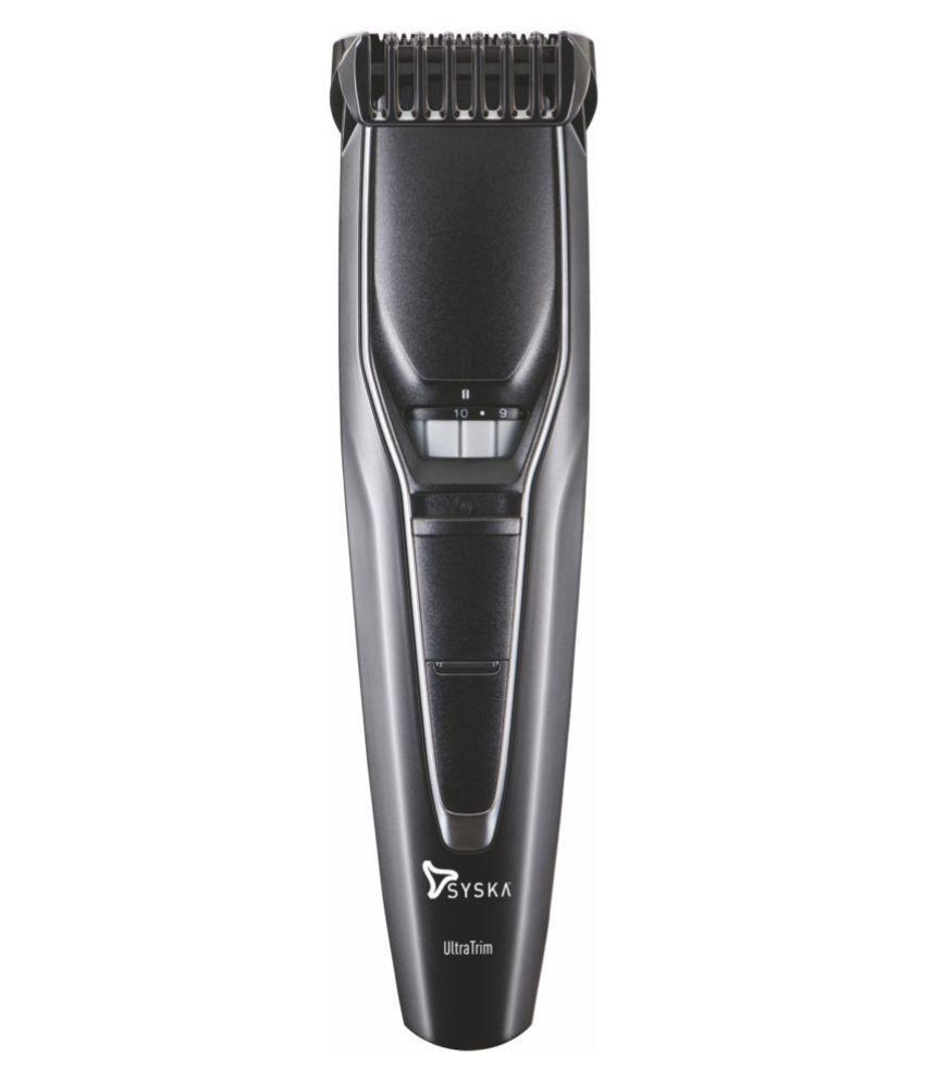Syska HT300 Beard Trimmer ( Black )