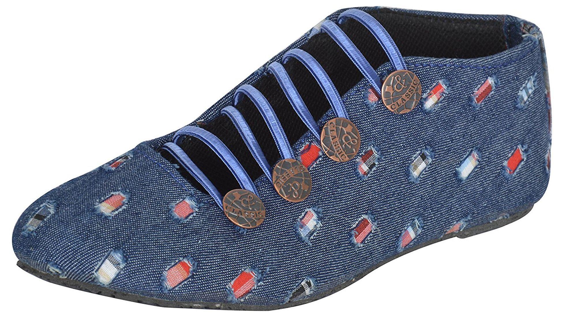 Tamannas Multi Color Ethnic Footwear