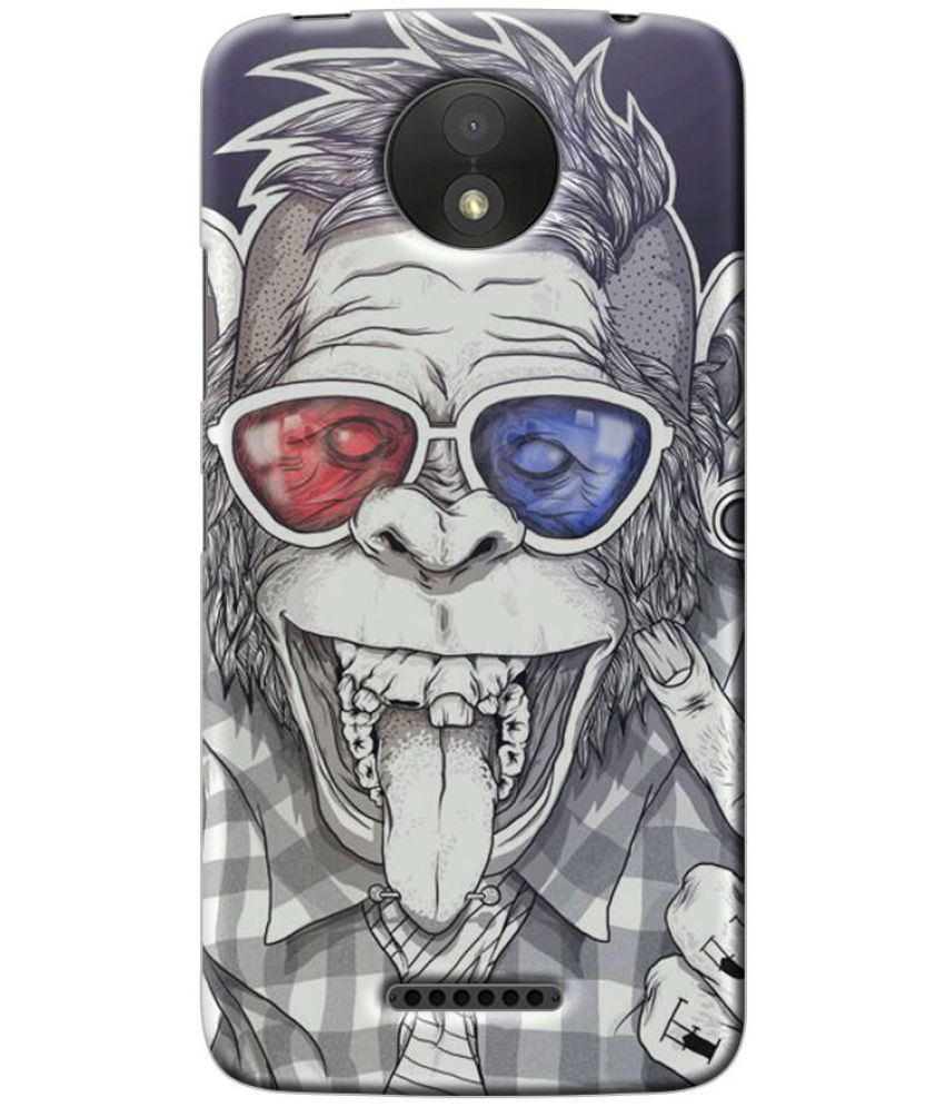 Moto C Plus Printed Cover By Case King