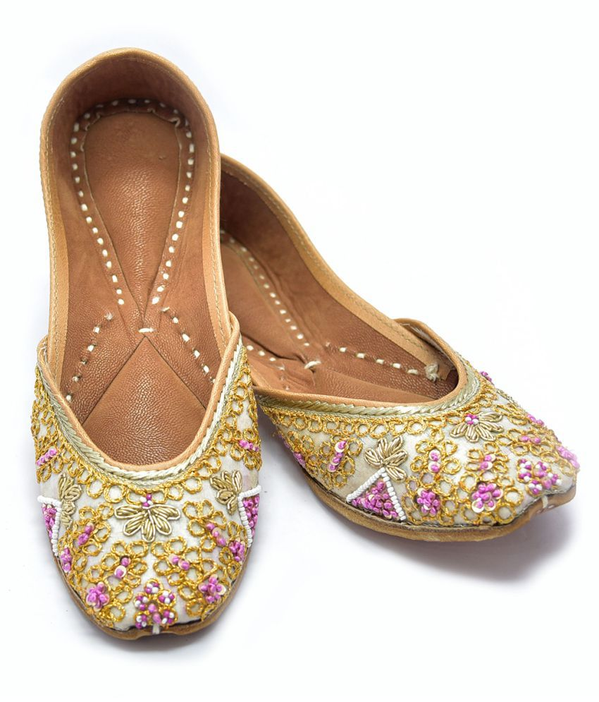 Just Differ Multi Color Ethnic Footwear