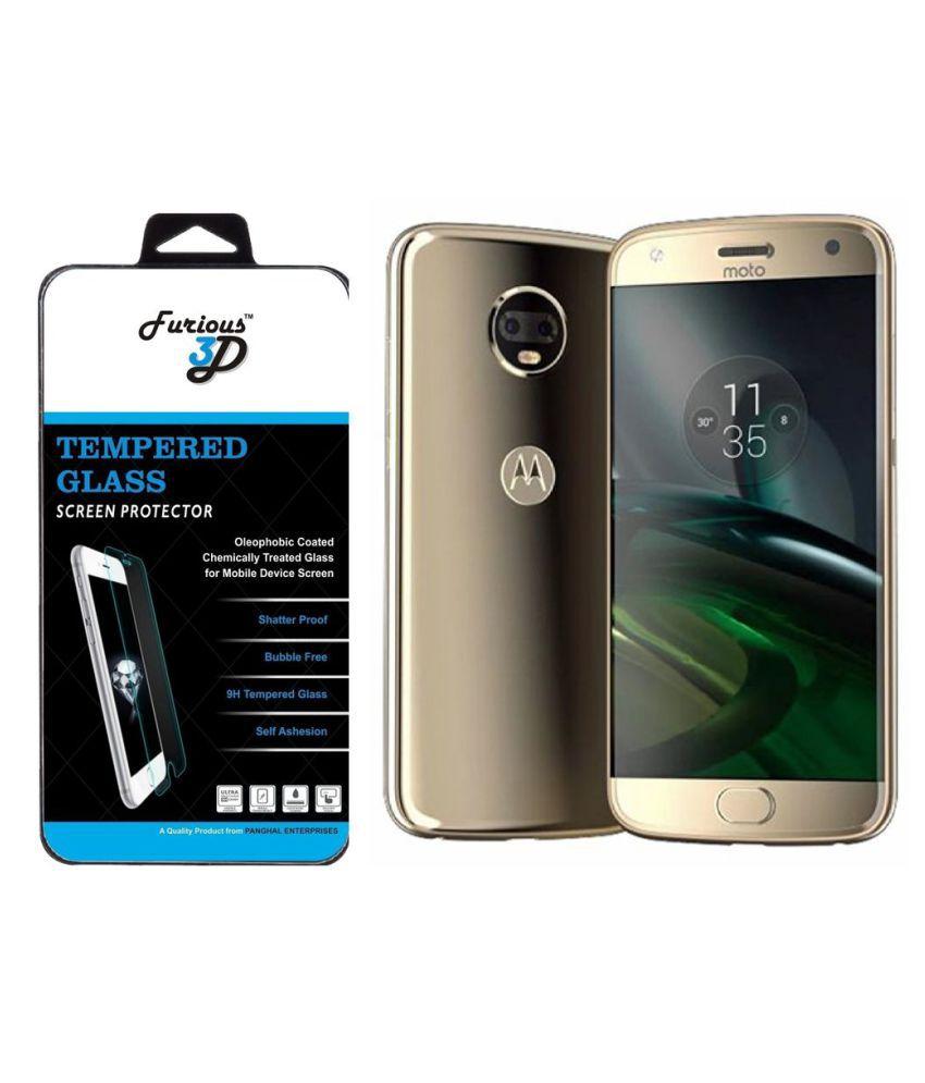 Motorola Moto X4 Tempered Glass Screen Guard By Furious3D