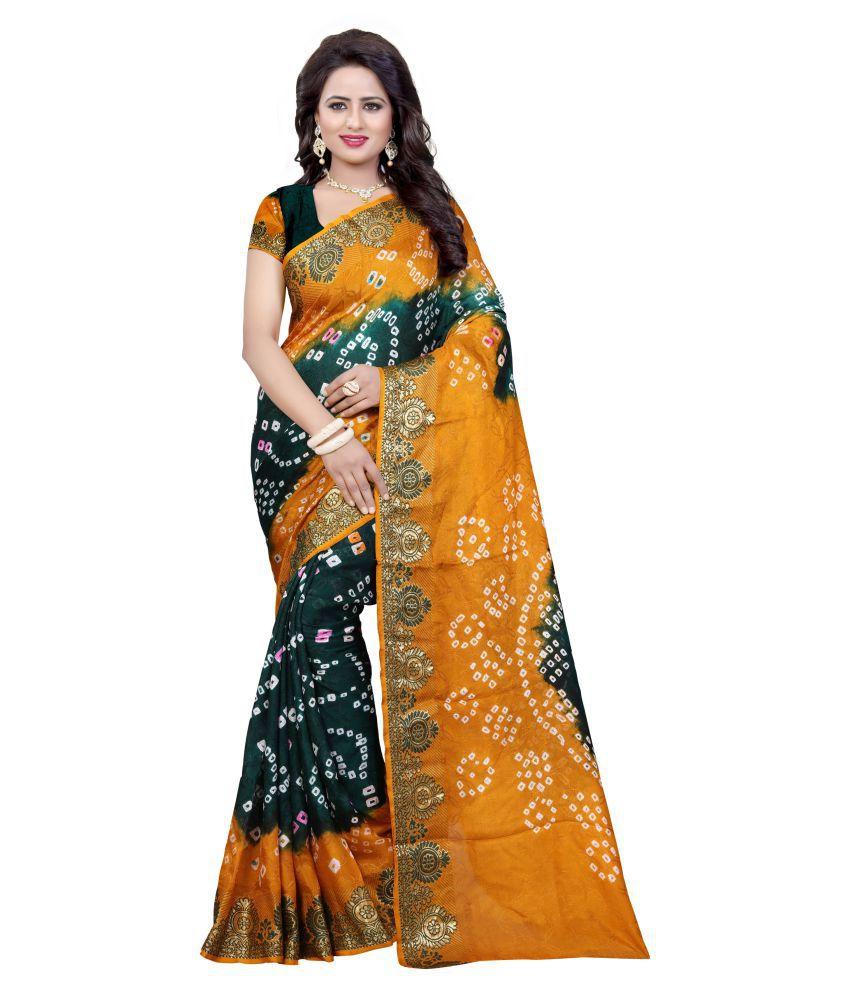 Nesdi Multicoloured Art Silk Saree