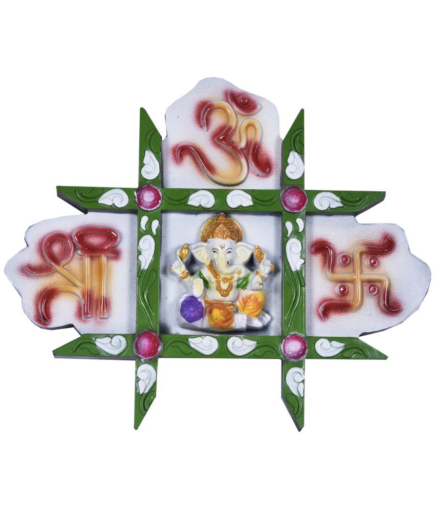 Navrang Ganesha Resin Idol