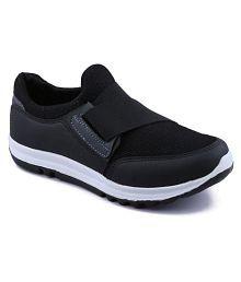 Asian Super-13 Black Running Shoes