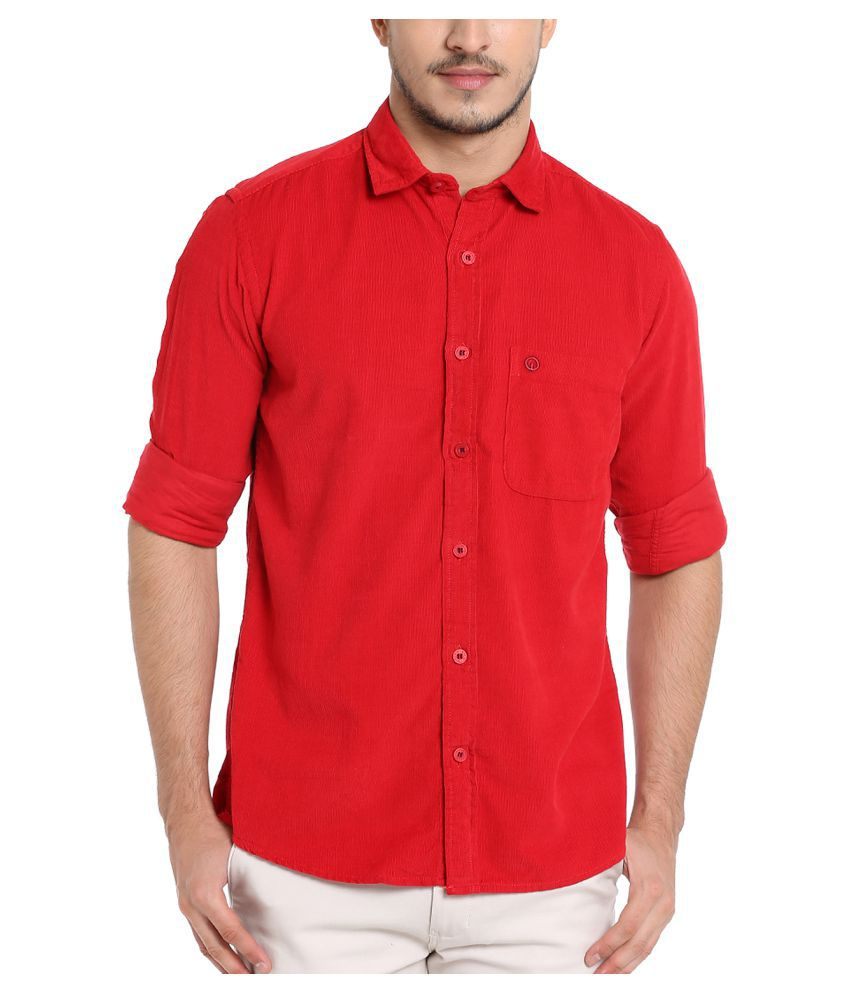 Integriti Red Slim Fit Shirt