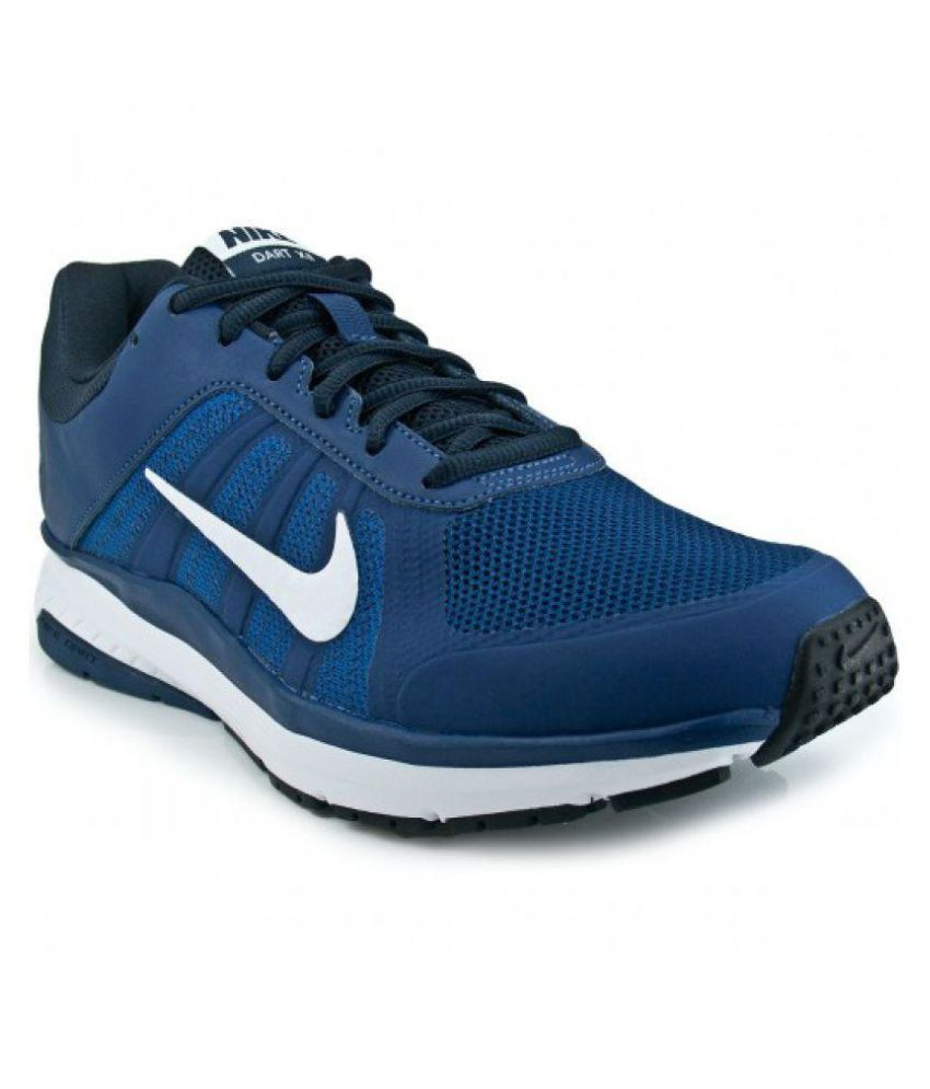 99f3a9b0247c Nike DART 12 MSL Blue Running Shoes - Buy Nike DART 12 MSL Blue Running  Shoes Online at Best Prices in India on Snapdeal