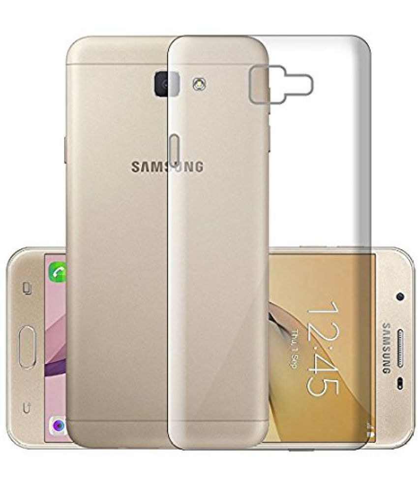 Samsung Galaxy J5 Prime Soft Silicon Cases ECellStreet - Transparent