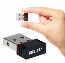 Ranz Mini USB 150Mbps 802.11n Wireless Wifi Nano WAN Network Card Dongle Adapter- External USB Wifi Antenna