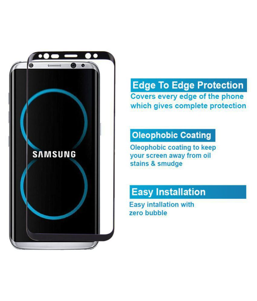 Samsung Galaxy S8 Plus Tempered Glass Screen Guard By Knotyy