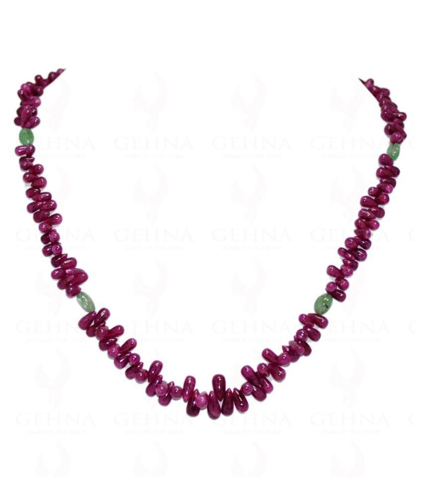 Gehna 92.5 Silver Necklace
