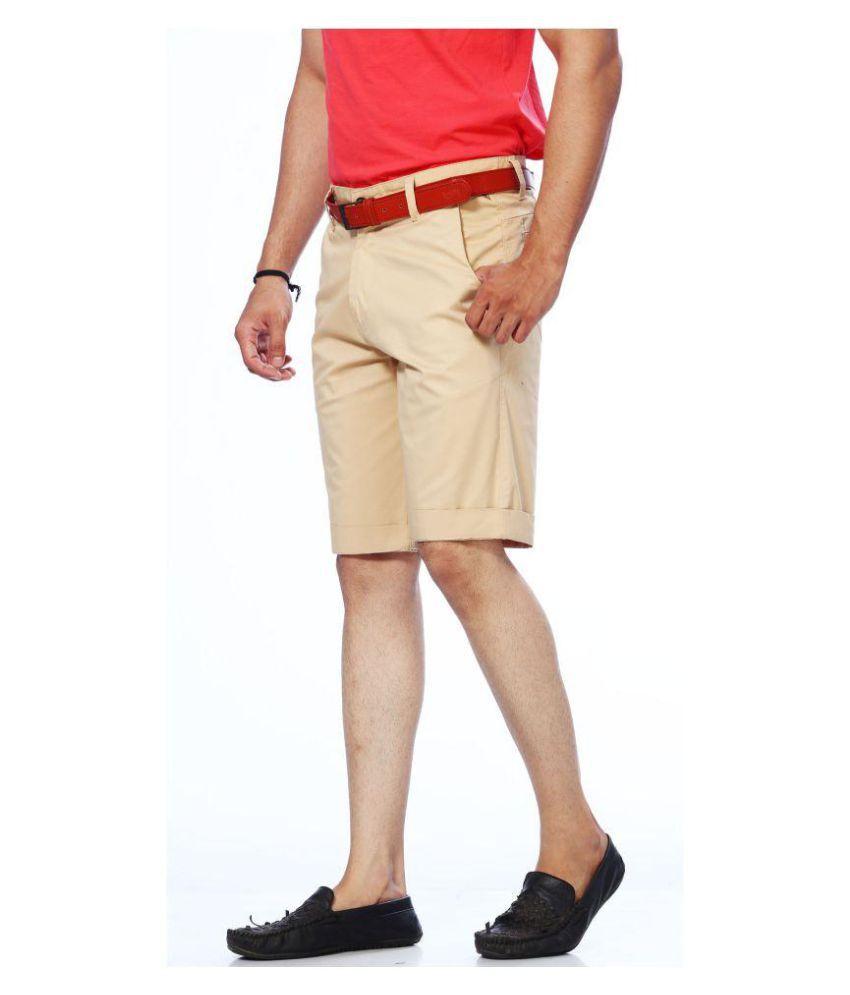 Unison Beige Shorts Single