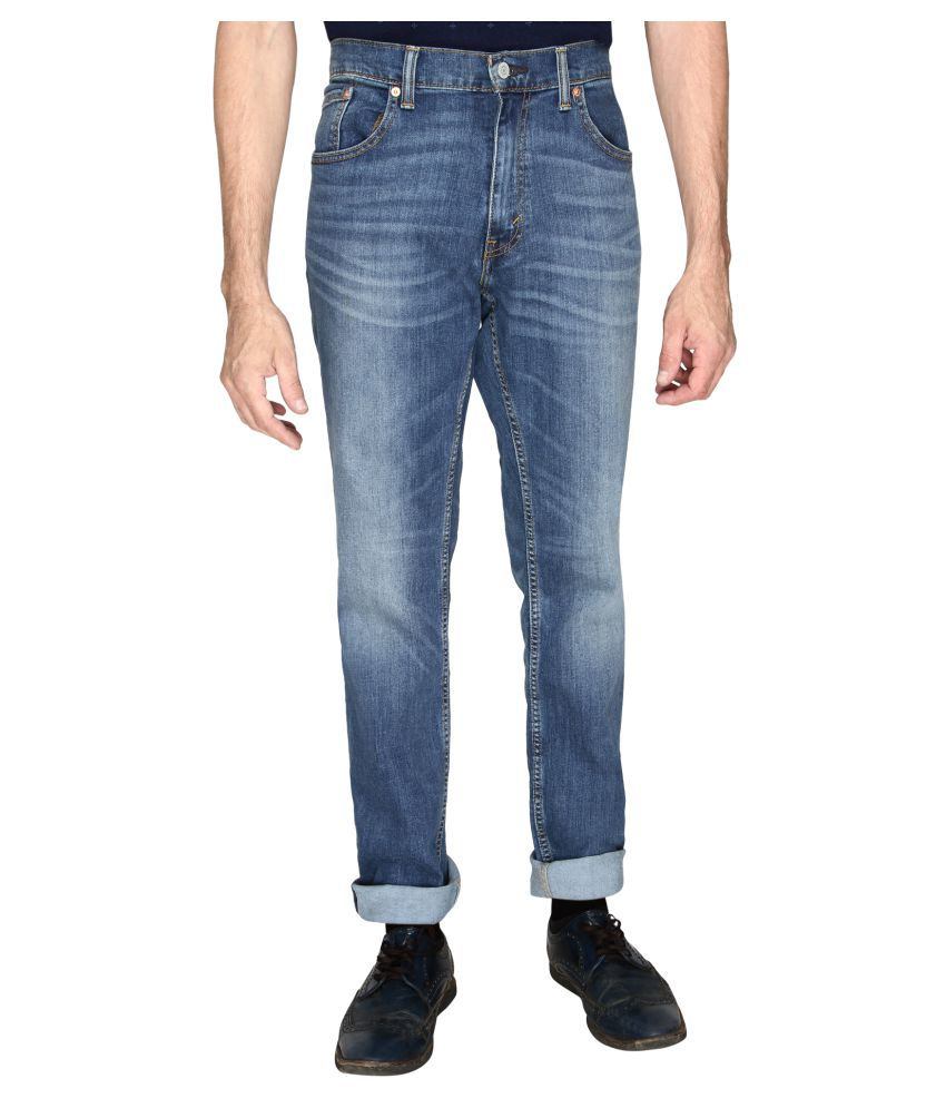Levi's Black Regular Fit Jeans