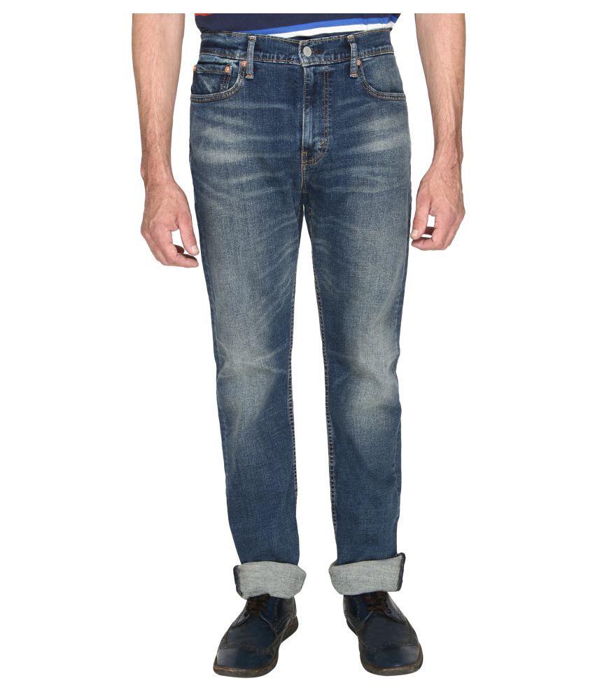 Levi's Black Regular Fit Jeans