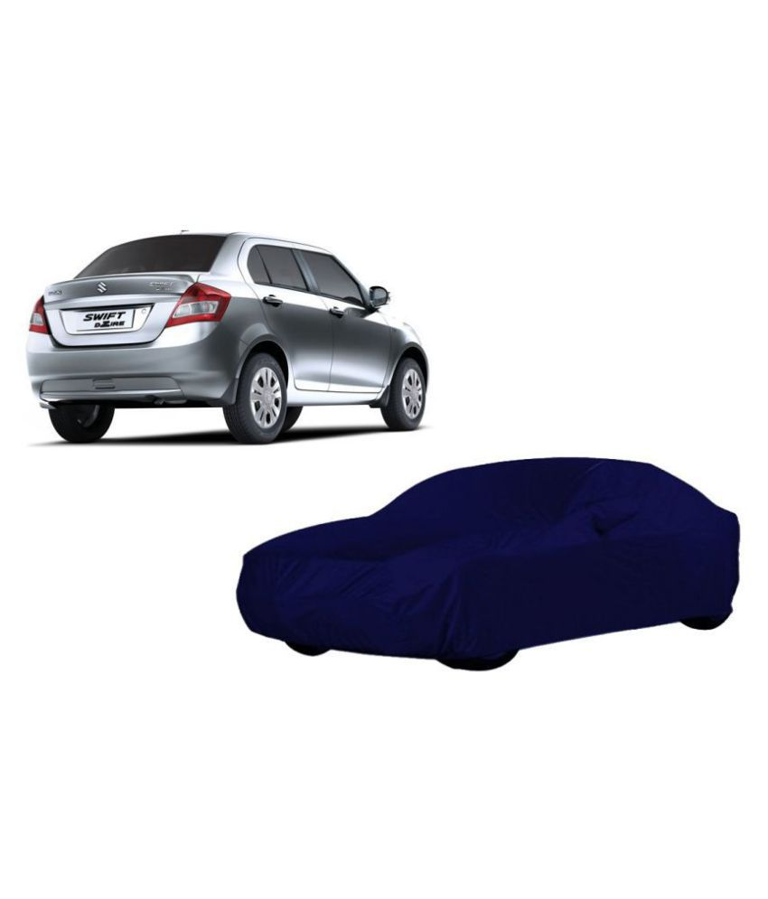 1554689fbbe1 Affron Car Body Cover Solid Colour Blue: Buy Affron Car Body Cover Solid  Colour Blue Online at Low Price in India on Snapdeal