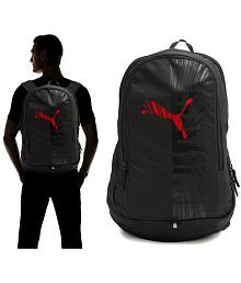 Puma Red Graphic Backpack