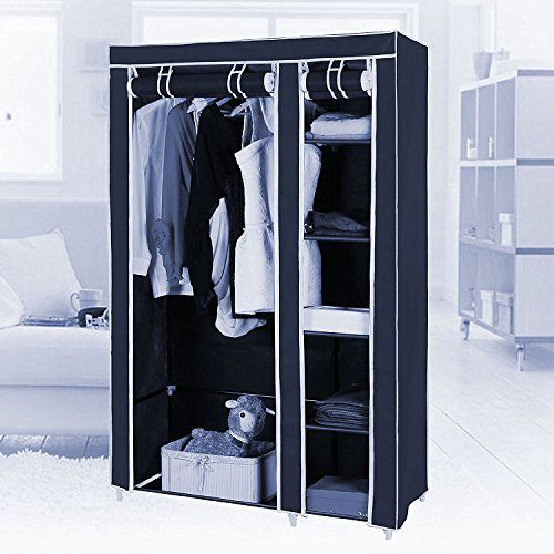 fancy and portable foldable closet cabinet wardrobe organizer with rh snapdeal com