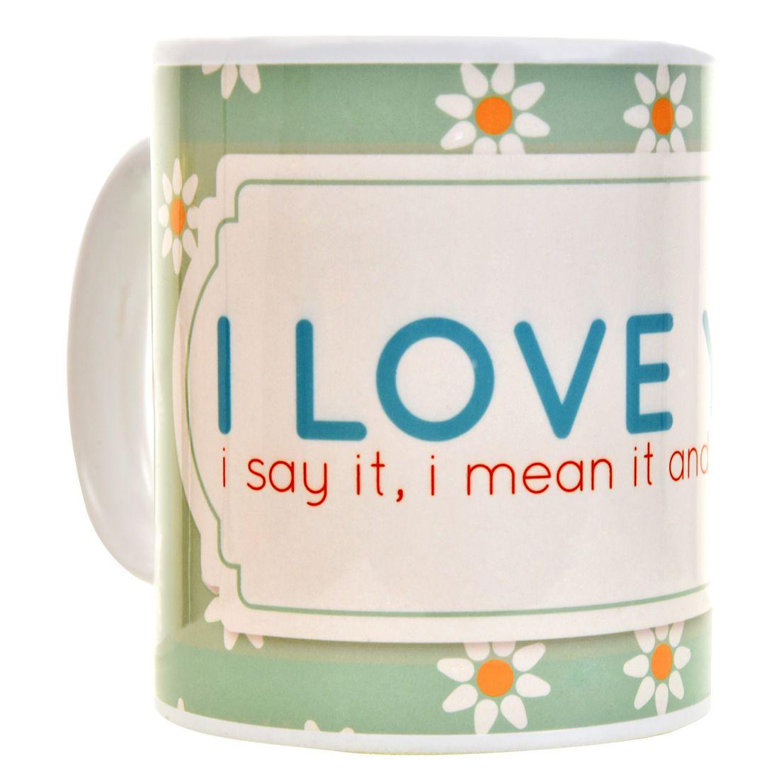 Halowishes Ceramic Coffee Mug 1 Pcs 325 ml