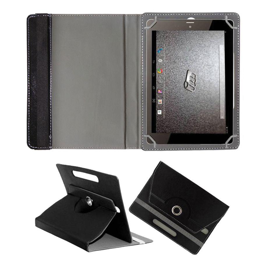 Micromax P650e Flip Cover By Fastway Black