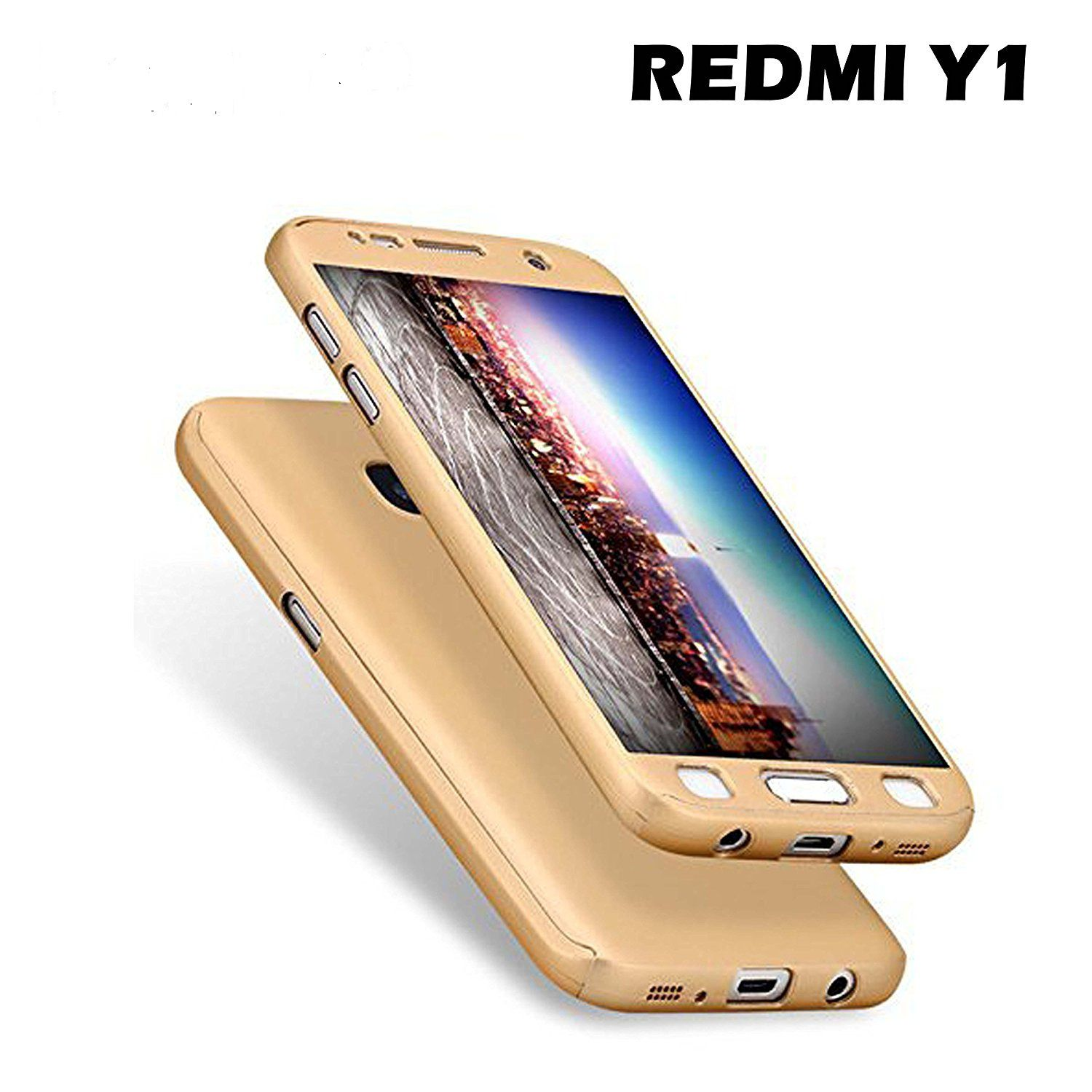 Xiaomi Redmi Y1 Lite Bumper Cases Ipaky Golden