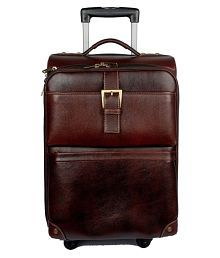 Leather Bags & More... Brown Overnighter