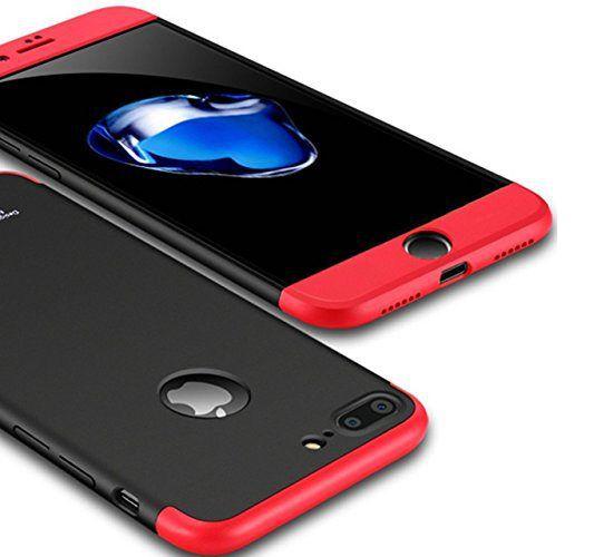 8358e50c7ee Apple iPhone 7 Plus Hybrid Covers YGS - Black - Plain Back Covers ...