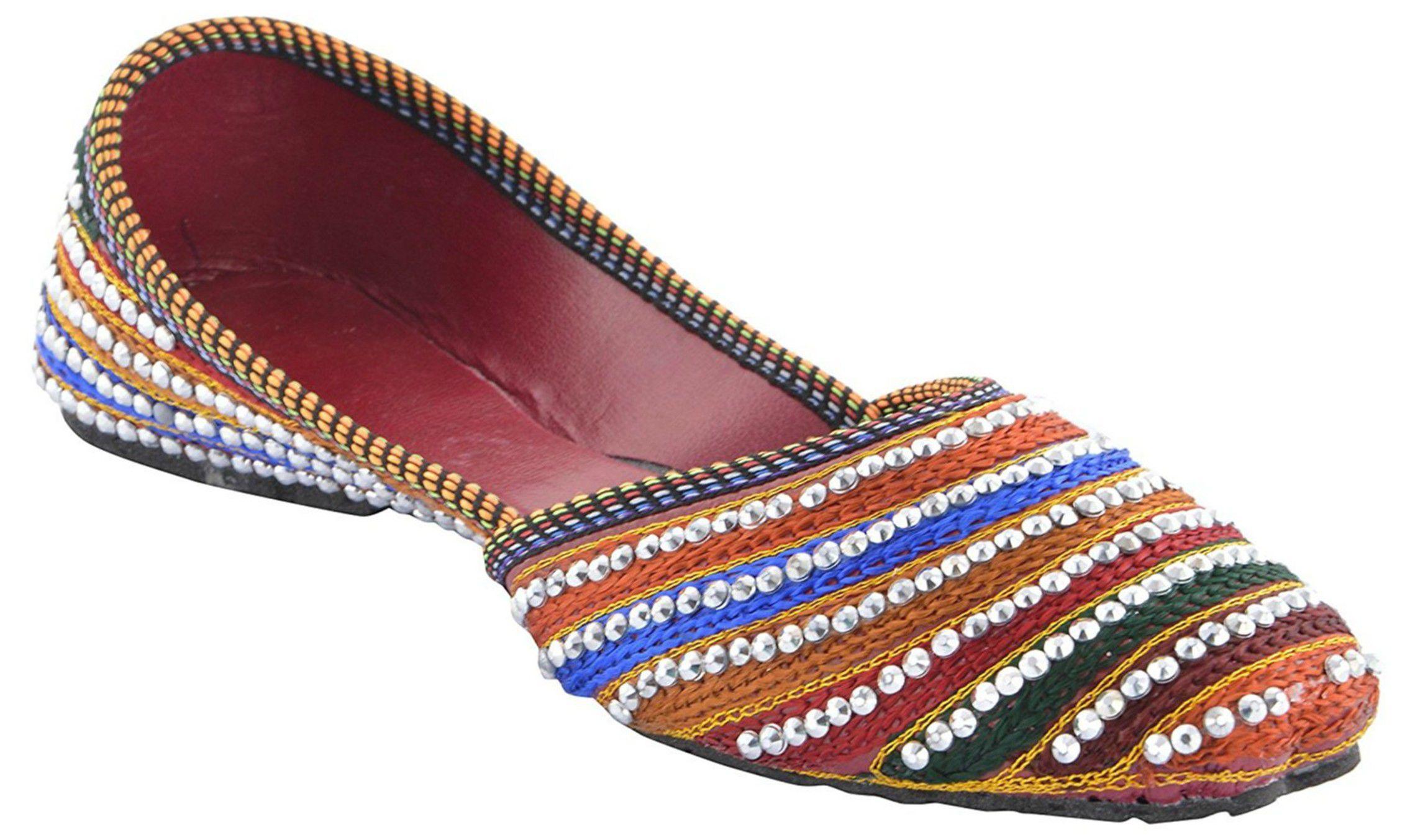 stylewear Multi Color Ethnic Footwear