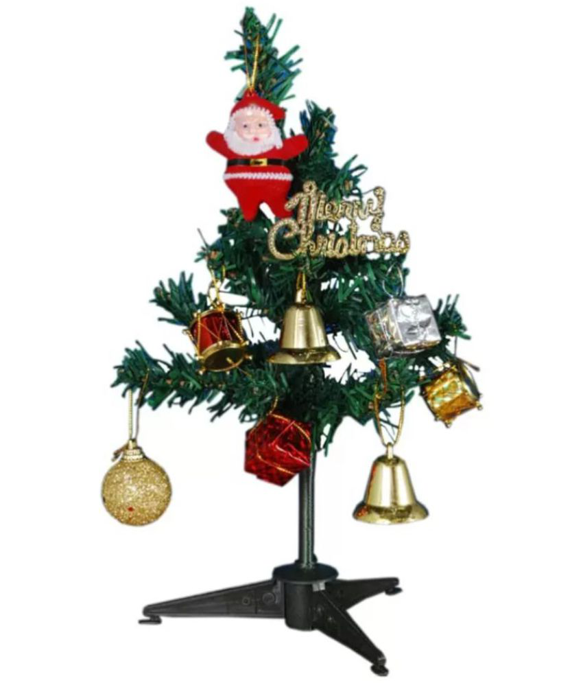 kashish trading company Green 12 cms Christmas Tree: Buy kashish ...
