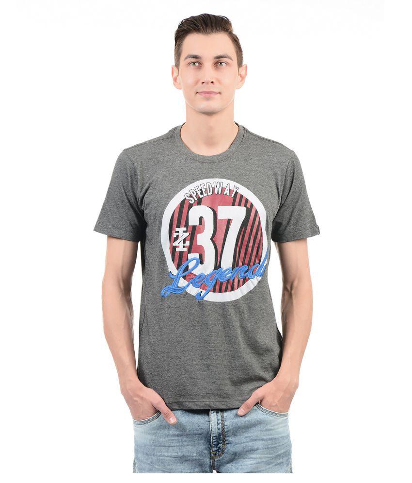 IZOD Grey Round T-Shirt