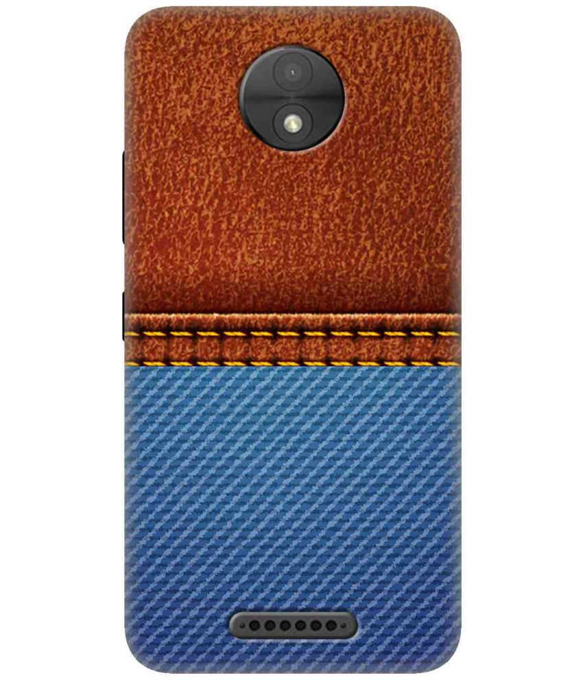 Moto C Plus 3D Back Covers By Wow