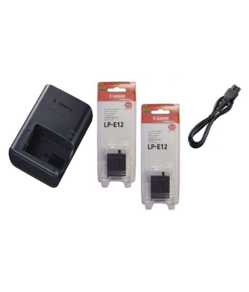 Canon Lp E12 Camera Battery Charger Price In India Buy