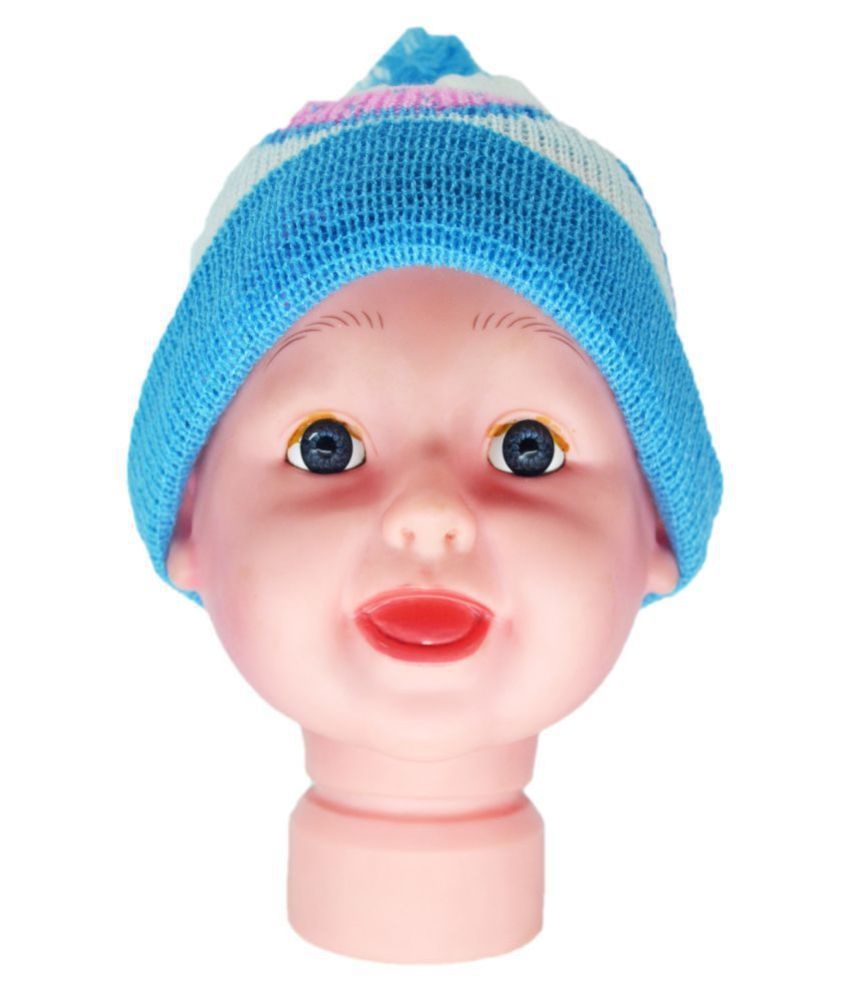 Kids Winter Cap / Woolen Cap ( Blue )