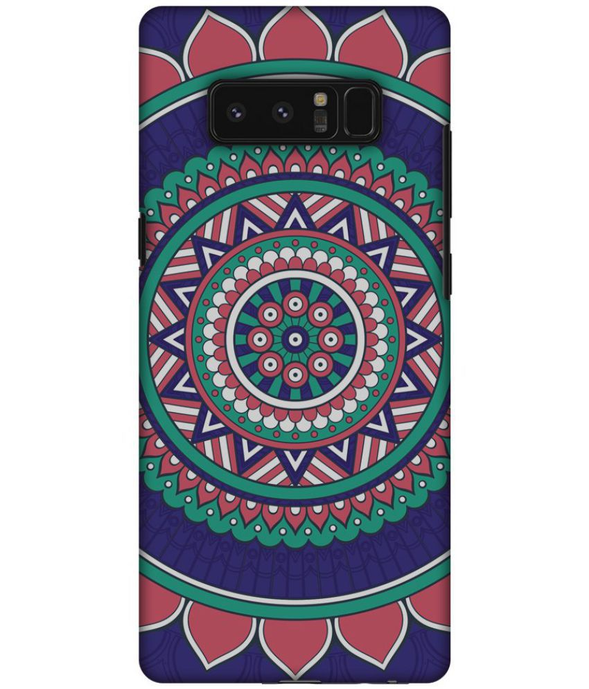 Samsung Galaxy Note 8 Printed Cover By AMZER